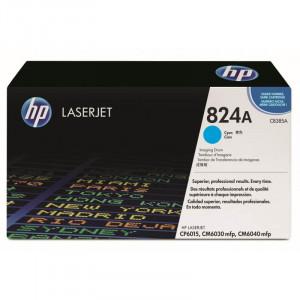 Drum HP CP6015 Ciano / Azul - Cilindro HP Ciano CM6040F CB385A - HP 824A Original Frete Grátis - TonerIdeal.com.br