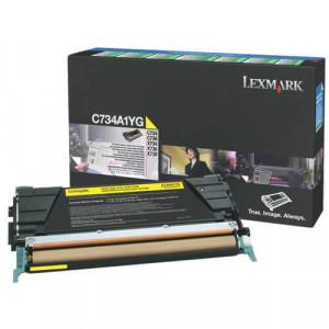 Cartucho de Toner C734- C734A1YG Lexmark Original Melhor Preço