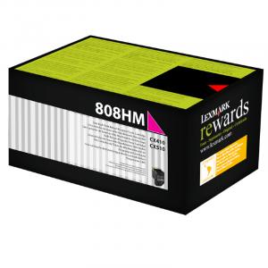 Toner 80C8HM0 808HM Lexmark Original Melhor Preço – Toner Ideal