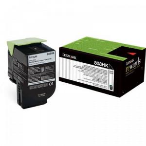 Toner 80C8HK0 808HK Lexmark Original Melhor Preço