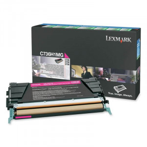 Toner C736H1MG Lexmark Original Melhor Preço – Toner Ideal