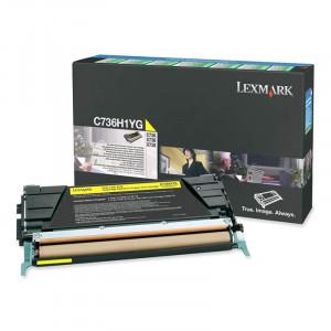 Toner C736H1YG Lexmark Original Melhor Preço