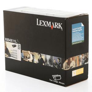 Cartucho de Toner X654 - X654X11L / X654X11B Lexmark Original Melhor Preço